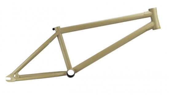 【BMX ストリート フレーム】 STRESS BES Frame (マット ベージュ) TT20.5