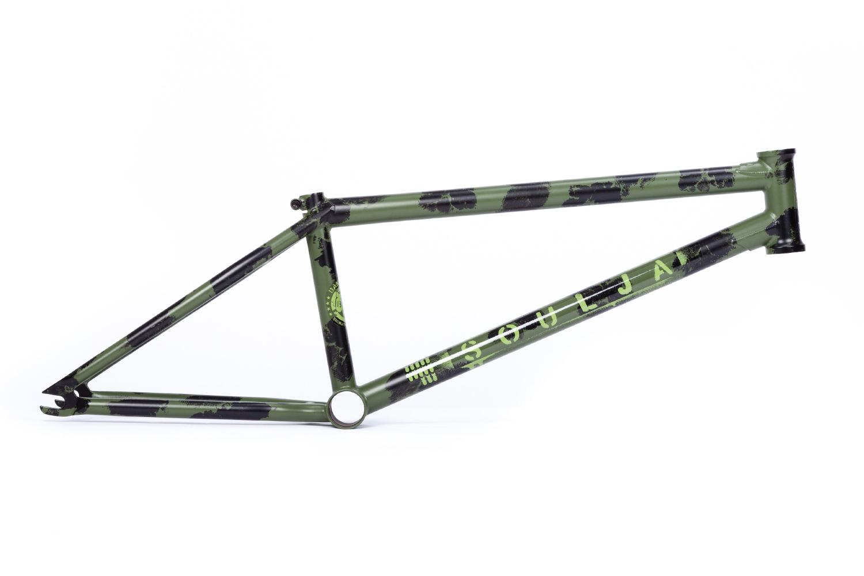 【BMX ストリート フレーム】 BSD SOULJA FRAME コンバットカモ TT20.6