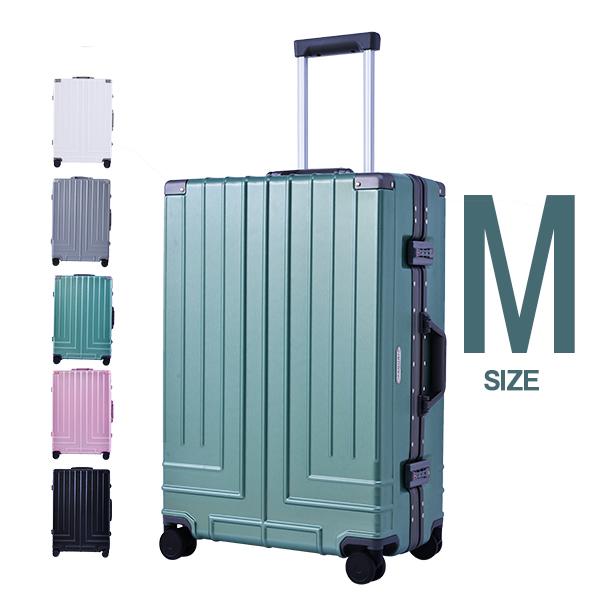 【9%OFFクーポン!!】 スーツケース キャリーケース キャリーバッグ フレーム M サイズ TSAロック搭載  一年間保証 軽量 中型 4日~7日用 suitcase Travelhouse  RM18076 【新作登場】 値引