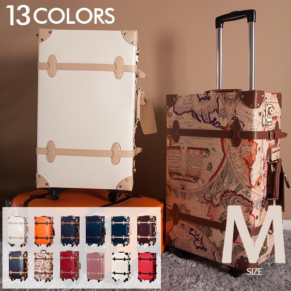【10%OFFクーポン適用!】スーツケース トランクケース キャリーバッグ一年間保証 4日~7日用 Mサイズ 旅行用品中型 軽量 suitcase FUPP03