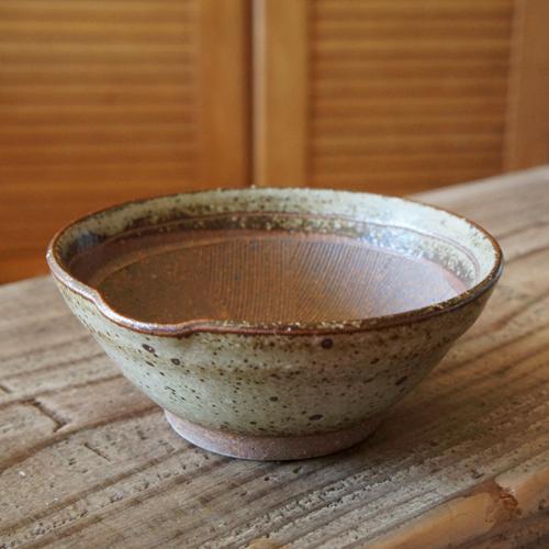 よくスレるすり鉢です 朱土 擂り鉢 すり鉢 アウトレットセール 特集 4寸 TOJIKITONYA 営業 唐津