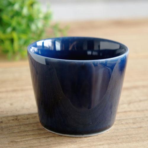 送料無料 産地の手仕事シリ-ズ 宵 猪口:ブルー TOJIKI 気質アップ おしゃれ 和食器 贈り物 TONYA