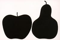 DANESE(ダネーゼ) ポスター 洋なし&リンゴ