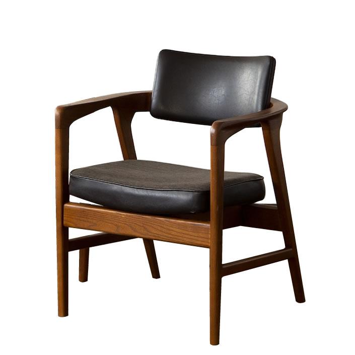 アクメファニチャー(ACME Furniture) WARNER ARM CHAIR VL(ワーナーアームチェアビニールレザー)