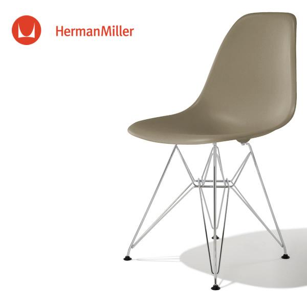 イームズ サイドシェルチェア DSR スパロー クロームベース フェルトグライズ[DSR. 47 9J E9]【Herman Miller ハーマンミラー 正規品】