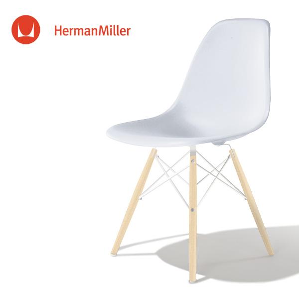 イームズ サイドシェルチェア DSW アルパイン ホワイトベース メープル[DSW. 91 UL ZM E8]【Herman Miller ハーマンミラー 正規品】