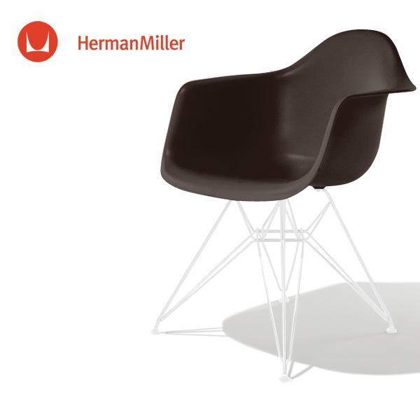 イームズ アームシェルチェア DAR ジャバ ホワイトベース スタンダードグライズ[DAR. 91 5B E8]【Herman Miller ハーマンミラー 正規品】