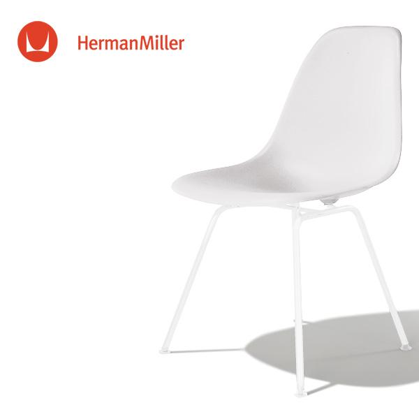 イームズ サイドシェルチェア DSX ホワイト ホワイトベース スタンダードグライズ[DSX. 91 ZF E8]【Herman Miller ハーマンミラー 正規品】