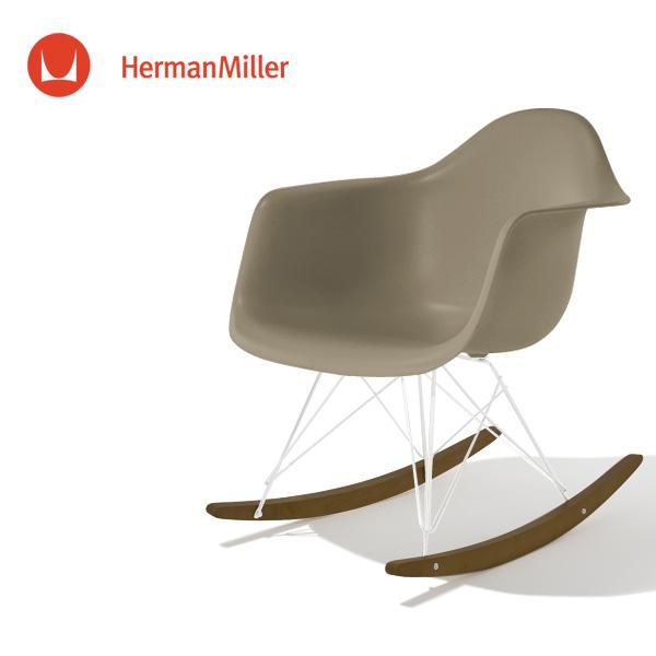 イームズ アームシェルチェア RAR スパロー ホワイトベース ウォールナット[RAR. 91 OU 9J]【Herman Miller ハーマンミラー 正規品】