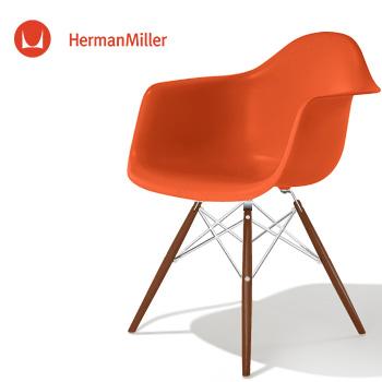 【Herman Miller ハーマンミラー 正規品】 イームズ レッド クロームベース [DSR. 47 ZE E8] DSR サイドシェルチェア スタンダードグライズ