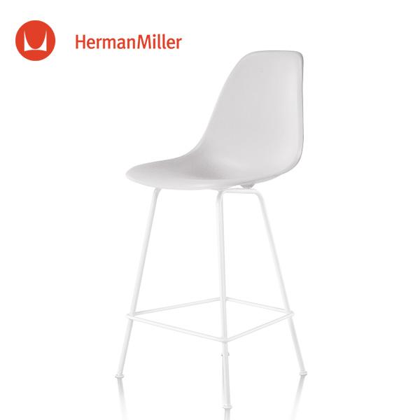 イームズ シェルスツール カウンターハイトスツール DSHCX ホワイト ホワイトベース スタンダードグライズ[DSHCX. 91 ZF E8]【Herman Miller ハーマンミラー 正規品】