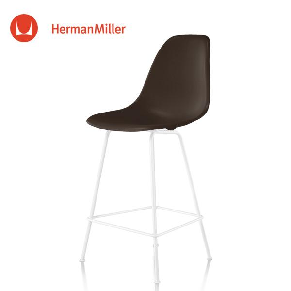 カウンターハイトスツール イームズ スタンダードグライズ[DSHCX. Miller DSHCX E8]【Herman ハーマンミラー 5B 正規品】 91 シェルスツール ホワイトベース ジャバ