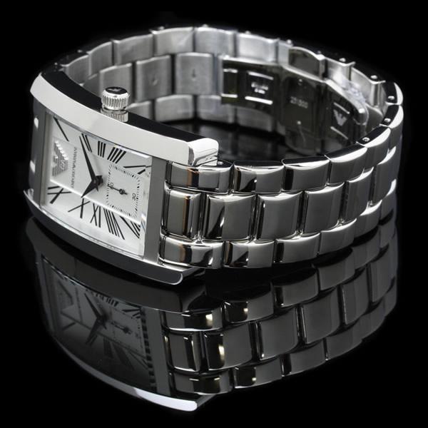 emporioarumanisumorusekondo搭載人表手錶銀子AR01450517