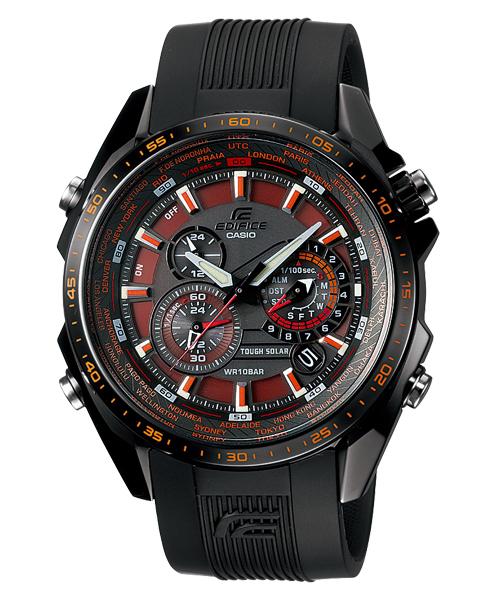 EDIFICE edifisu EQS-500C-1A2JF卡西歐CASIO手錶男子的正規的物品