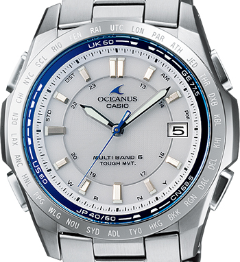 電波soraoshianasu OCEANUS OCW-T100TD-7AJF手錶人CASIO卡西歐