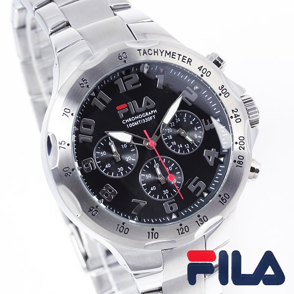 E mix fila fila mens analog watches mens watch fa0795 31 rakuten global market for Fila watches