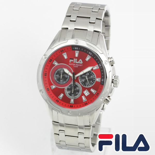E mix rakuten global market fila fila mens analog watches men 39 s watch fa1049 32 for Fila watches