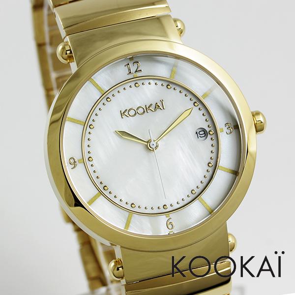 KOOKAI 手錶 1623年-0008,日本女士觀看