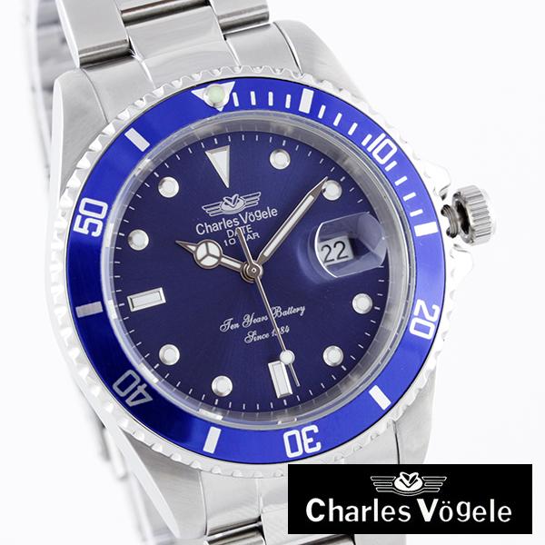 [沙勒Ho凝膠]Charles Vogele手錶CV-7833-5人