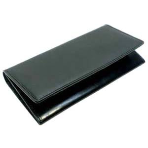 國鞄(コクホー)國鞄シリーズ 長財布(ファスナー式小銭入れ付き)ブラック No2290BK 送料無料