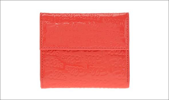 (お得な特別割引価格) フォリフォリ ロゴマニア ロゴ型押し 小銭入れ・パスケース付 三つ折財布 ピンク WA0L027SP PNK 送料無料, 削り節屋 裕次郎 fb3cb064