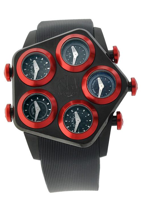 腕時計 メンズ JACOB&Co. ジェイコブ 腕時計 G5 GLOBAL jc-gl1-26 正規品 送料無料