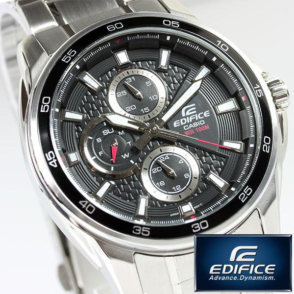卡西歐EDIFICE手錶人海外型號EF-334D-1AVDF