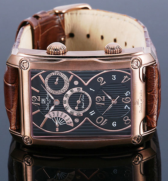 ドルチェ・メディオ メンズ腕時計 DM10011 IPBRBK Dolce Medio 送料無料sQChdBorxt