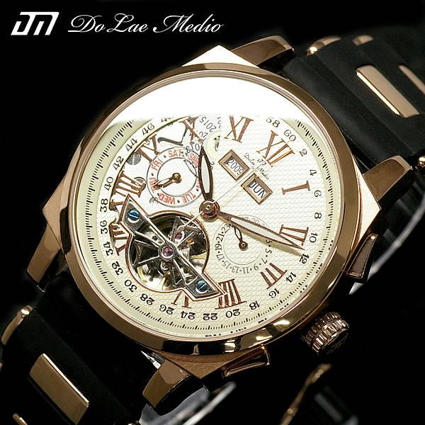 doruchiemedio Dolce Medio手錶自動卷POWER WATCH刊登型號DM8004-PGWH