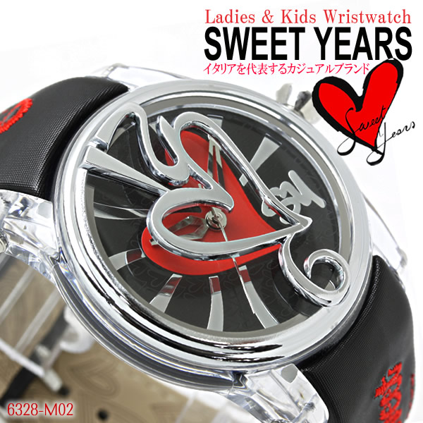 SWEET YEARS惠特年大人氣休閒名牌女士Swatch豐富多彩的手錶6328-M02