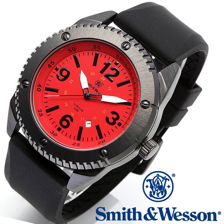 [正規品] スミス&ウェッソン Smith & Wesson ミリタリー腕時計 KNIVES WATCH RED/BLACK SWW-693-RD [あす楽] [送料無料] [雑誌掲載ブランド]
