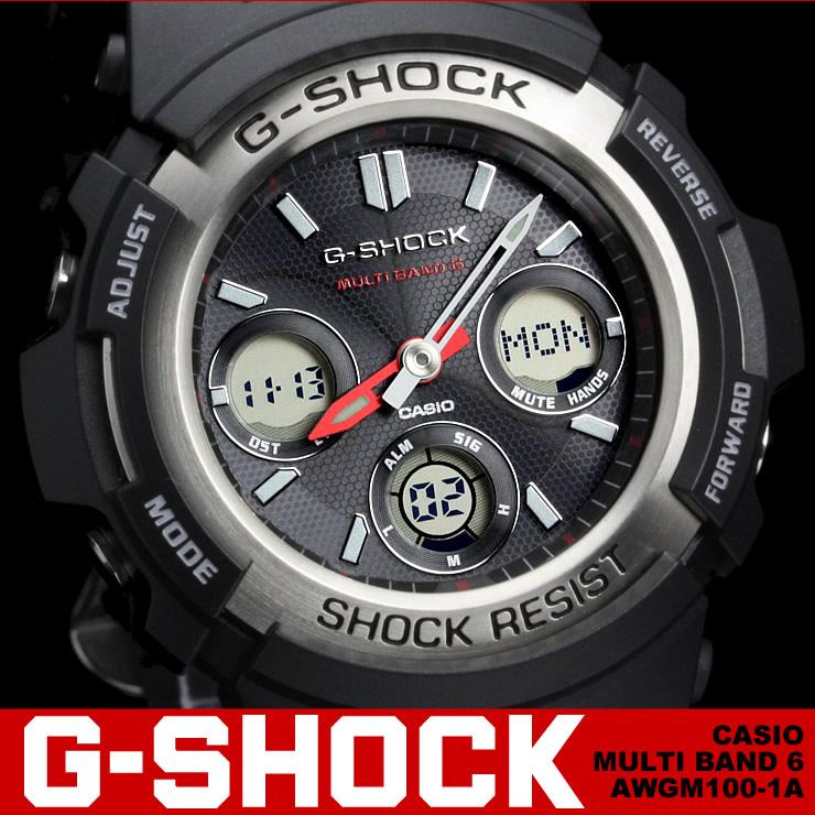 カシオ Gショック CASIO G-SHOCK AWG-M100-1A 送料無料