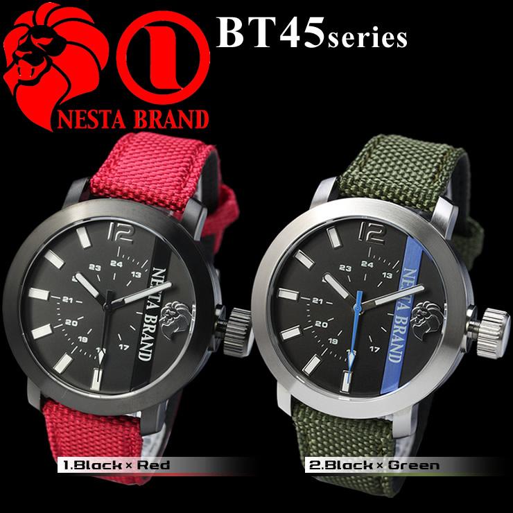 NESTA BRAND ネスタ ブランド メンズ腕時計 BANK TO TIME バンクトゥタイム bt45 送料無料