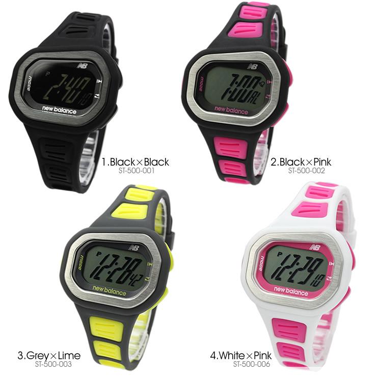 新平衡新平衡數位手錶中性手錶 st-500-00