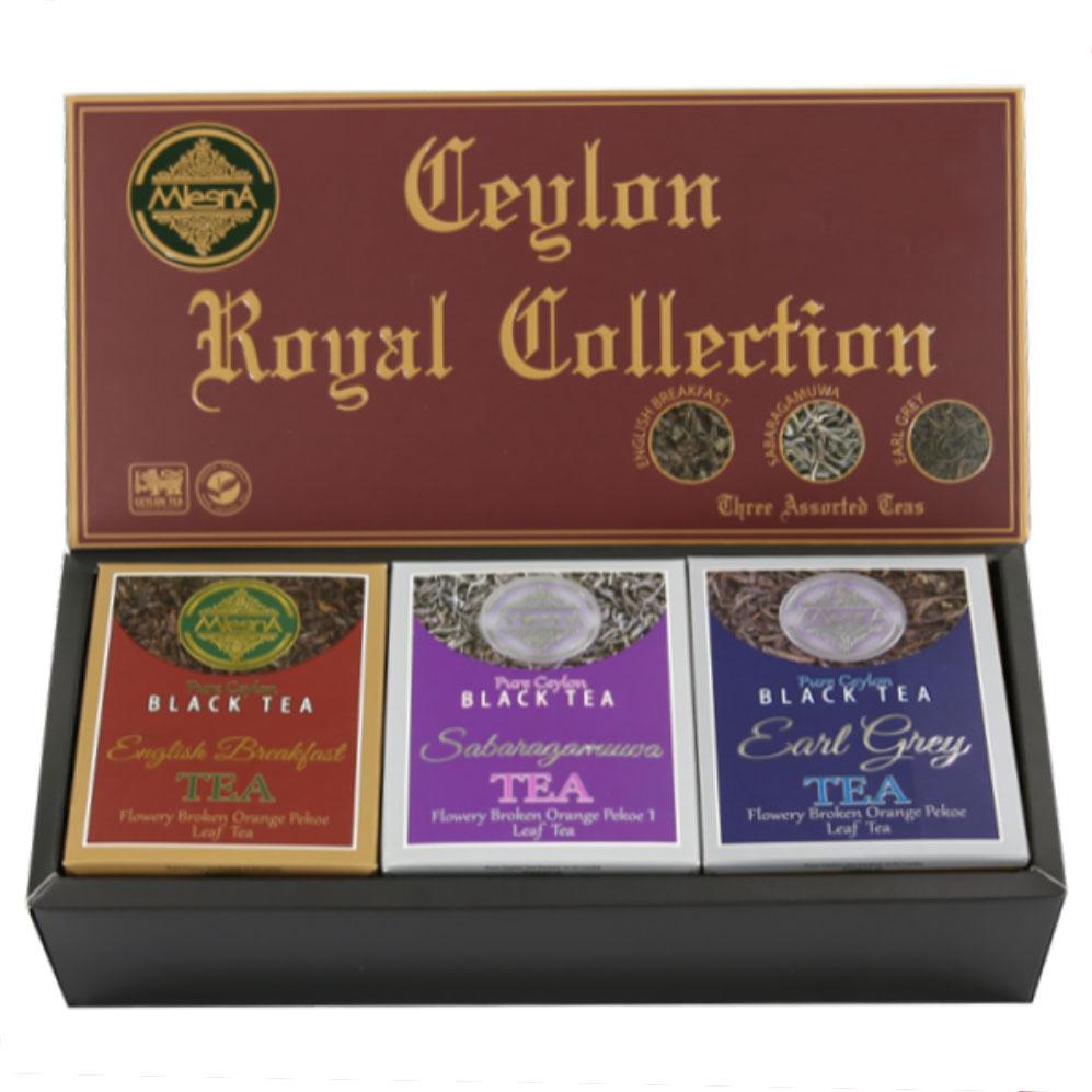 ロイヤル コレクション セイロン ティー 捧呈 ギフトセット 100g 産地別 ローグローン ハイグローン 高級茶葉 3種類セット ミディアム メーカー公式 セット