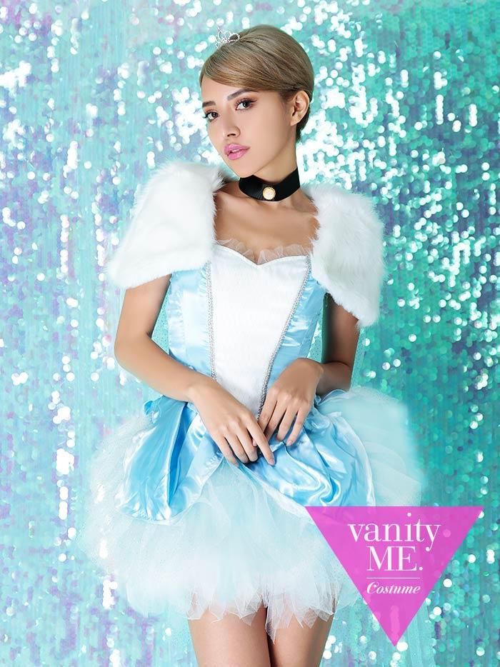 【3点セット】Blue princess coord【vanityME.オリジナルコーデ】【 コスプレ 衣装 仮装 コスチューム ハロウィン】vcscd-0055