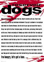《ポスター ポストカード取扱い日本一 新商品 》お気に入りの映画のポスターをお部屋のインテリアに 映画 ポスター レザボアドッグス RESERVOIR DOGS ストア タランティーノ 販売 クエンティン 通販 ドッグス レザボア グッズ アメリカ