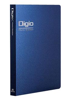 定番キャンバス デジカメ時代のコミュニケーションツール 受発注品 ナカバヤシ Digio フォトストッカーL判2段 ポケット 即出荷 DGPL81: ヨコ 80枚