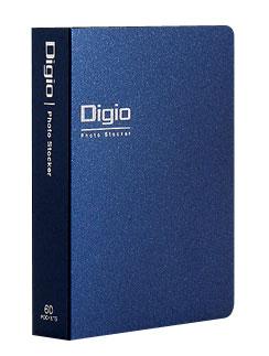 デジカメ時代のコミュニケーションツール 受発注品 人気 おすすめ ナカバヤシ Digio フォトストッカーL判1段 DGPL62: タテ 60枚 ポケット 信憑