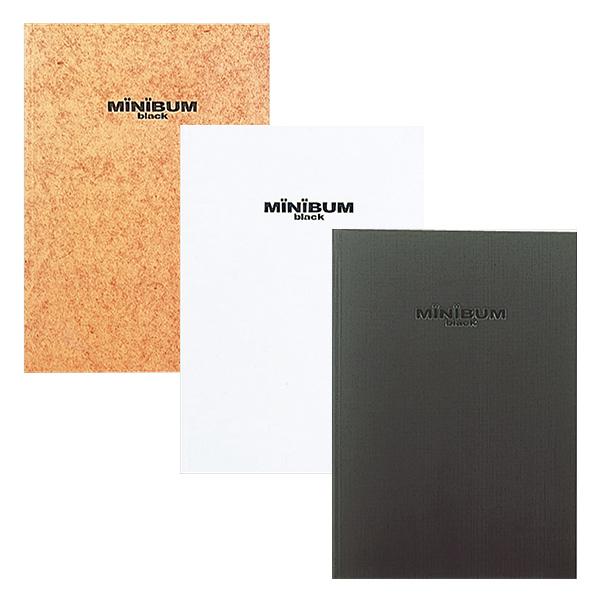 新作入荷 写真が映えるブラック台紙仕様のコンパクトなフリーフォトアルバム 受発注品 ナカバヤシ MINIBUM ミニバム黒台紙ブック式アルバム A4サイズ ブラック ホワイト 着後レビューで 送料無料 : アE-MB-152 ナチュラル