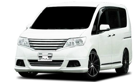 セレナ C26 前期 標準車用 20S/20G/20X フロントスポイラー【素地】 SERENA エアロ