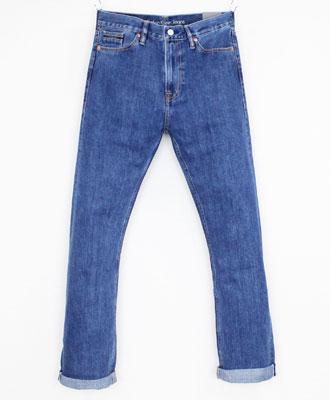 Calvin Klein(カルバンクライン) ストレートデニム HIGH STRAIGHT JEANS [J307110] INDIGO(911)