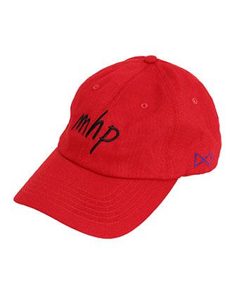MAISON HONORE(メゾンオノレ) ベースボールキャップ [Baseball Cap MHP] RED