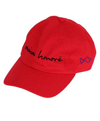 MAISON HONORE(メゾンオノレ) ベースボールキャップ [Baseball Cap Baba] RED
