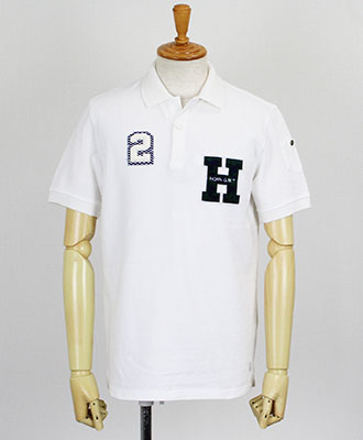 HORN G.M.T(ホーンガーメント) S/S ポロシャツ VINTAGE PENANT POLO [HN-18S-P02] WHITE