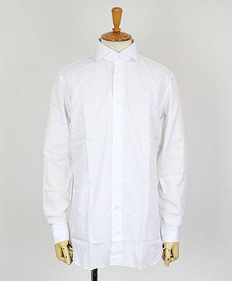LARDINI(ラルディーニ) ワイドカラーシャツ IGALBO [ALBO-C826/100/] ホワイト