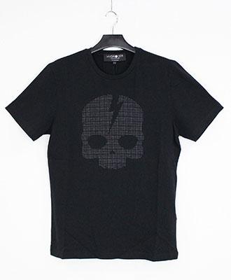 HYDROGEN / ハイドロゲン /スカル スタッズ Tシャツ / ブラック / SKULL STUDS TEES / BLACK [210-72441001-150]