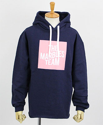 Marbles(マーブルス) プルオーバーパーカー CUT OFF OVER SIZED HOODIE [MHP-A1804] NAVY