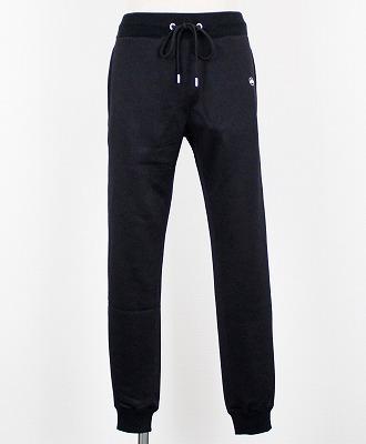 DABORO(ダボロ) ジャージリブパンツ jersey rib pants [DPN058] BLACK