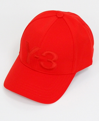 Y-3(ワイスリー) ロゴキャップ LOGO CAP [DY9344-ACCS19] RED